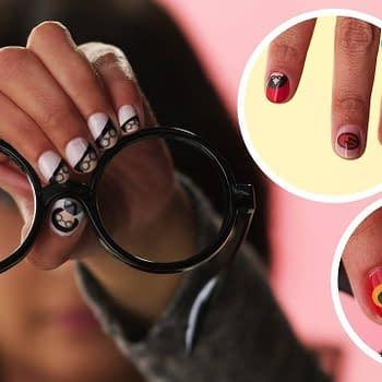 incredibles 2 nail art