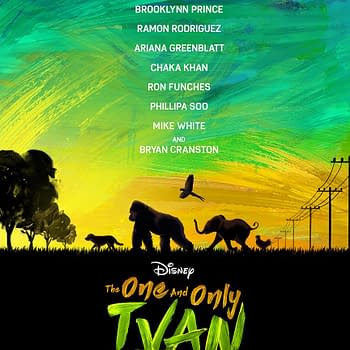 Disney Debuts Trailer For The One And Only Ivan, On Plus August 14th