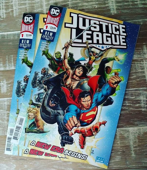 Massive Wednesday as DC Releases Justice League: The Scott Snyder Cut