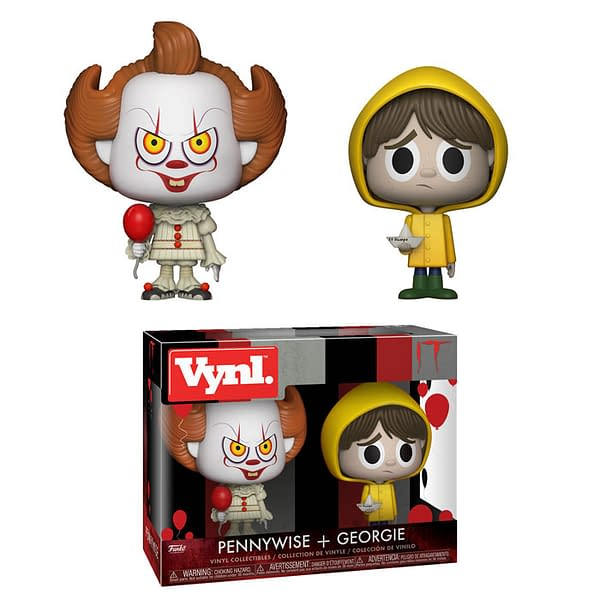 Pennywise And Georgie Get The Vynl Treatment From Funko