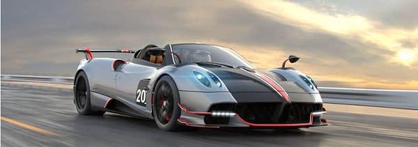 "Pagani Automobili Unveils Their Newest Hypercar in ""CSR Racing 2"""