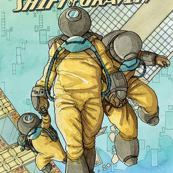 Radical Shift Of Gravity, one of a number of comics published this week.