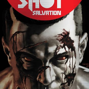 Valiant Announces New 1:250 Metal Cover for Bloodshot Salvation #1