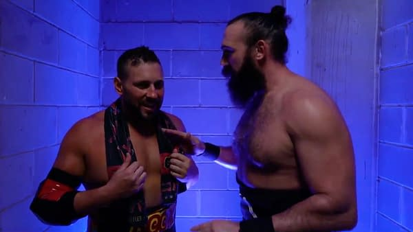 Brodie Lee is getting on Colt Cabana's good side.