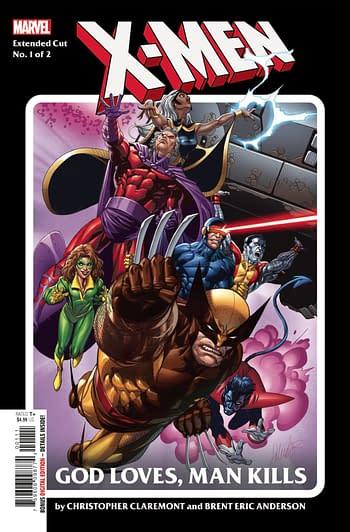 X-Men God Loves Man Kills Extended Cut #1 Main Cover