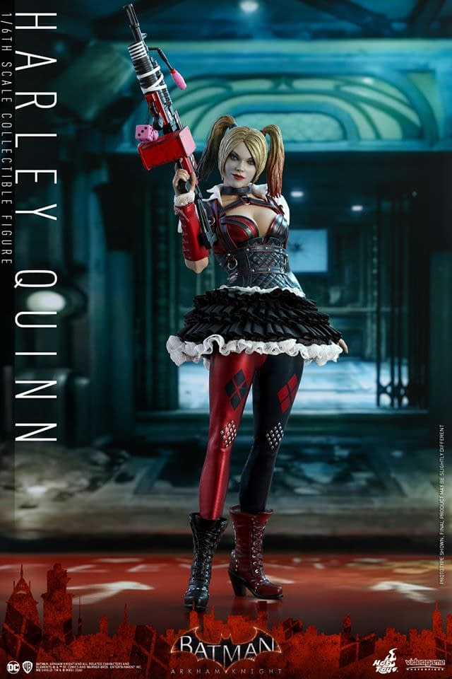 Batman: Arkham Knight Harley Quinn Hot Toys Figure