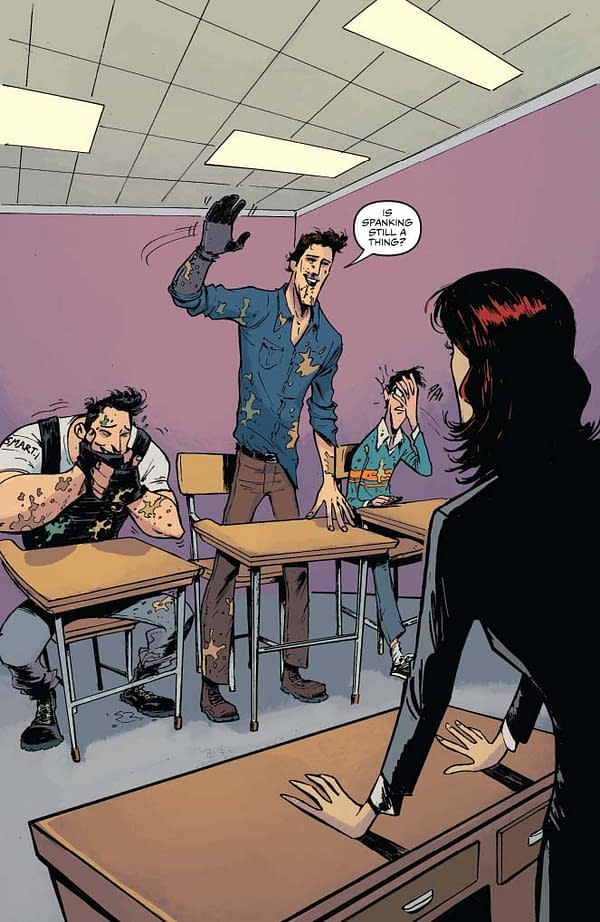 Ash vs Army of Darkness #4 art by Mauro Vargas, Sam Lofti, and Triona Farrell
