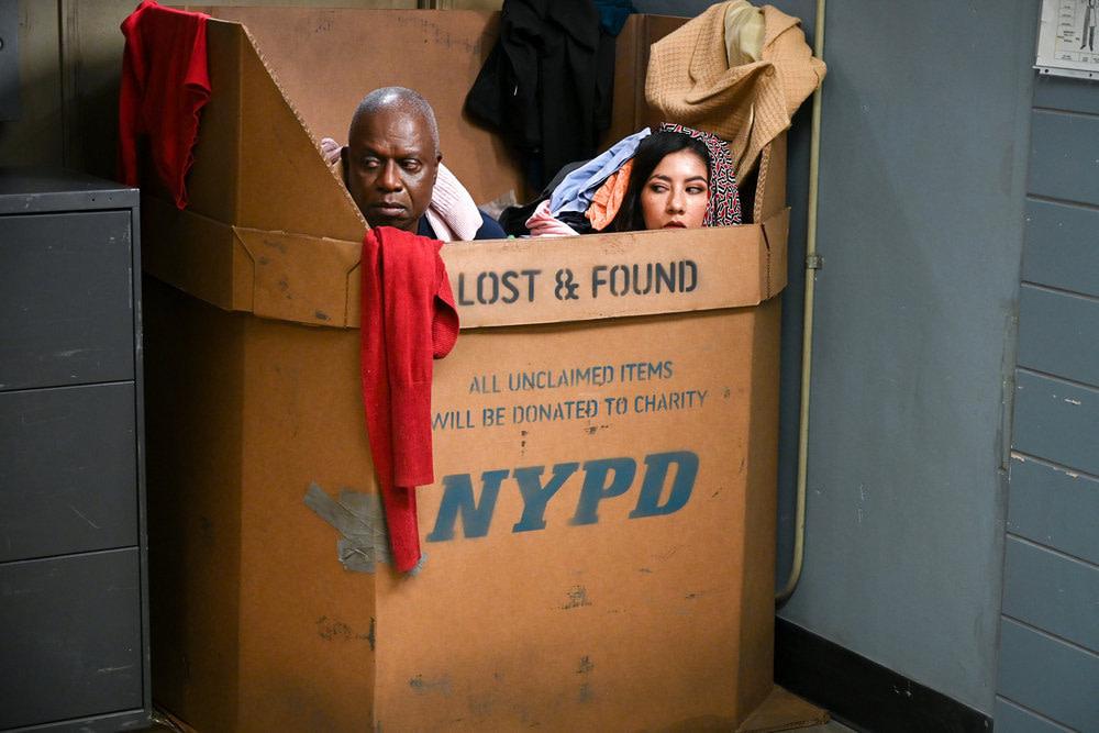 """Brooklyn Nine-Nine"" Season 7 ""The Jimmy Jab Games II"":"