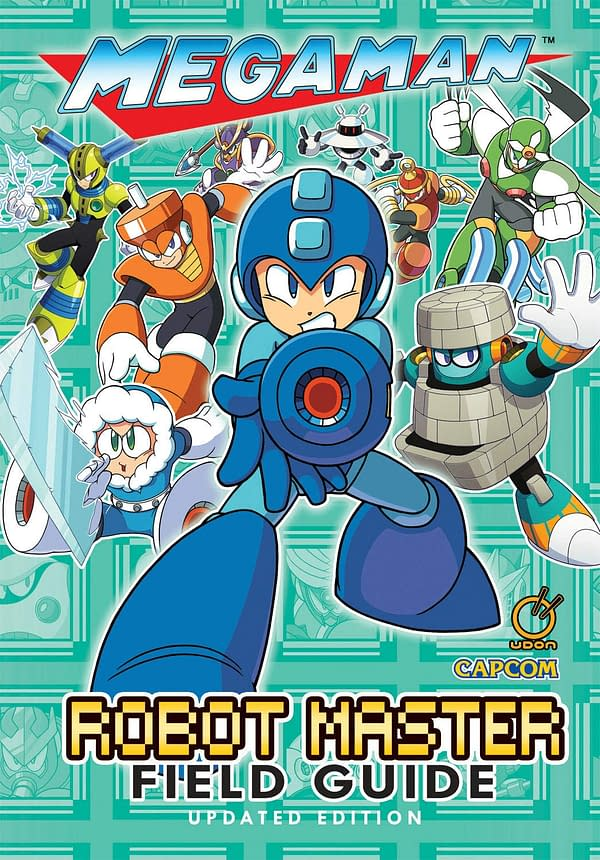 """Mega Man: Robot Master Field Guide"" Is Getting A Hardcover Release"