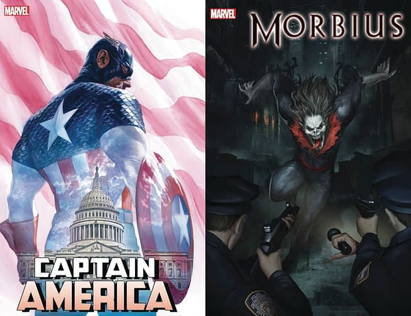 Marvel Ch-Ch-Changes - Captain America and Morbius