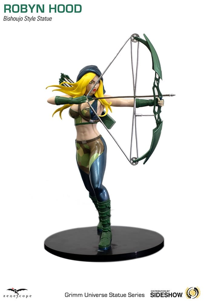 Grimm Fairy Tales Robyn Hood Gets Two Zenescope Statues