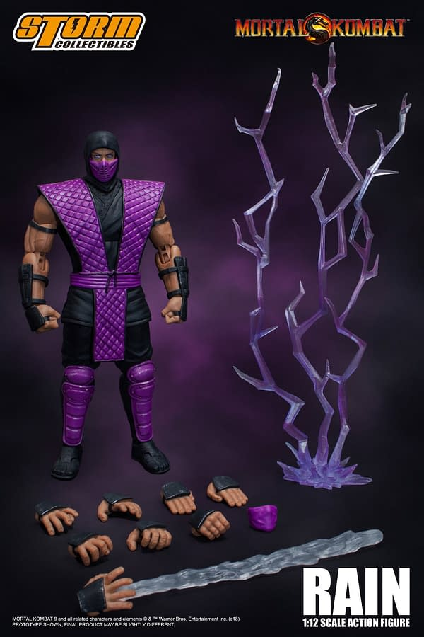 NYCC Storm Collectibles Mortal Kombat Rain Exclusive 9