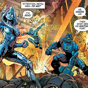 DC Metal (Men 2016) Review: A Truly Metal Comic