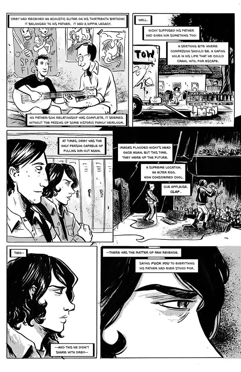 Check Out A Preview Of Last Song By Holly Interlandi And Sally Cantirino, In Stores Next Week From Black Mask