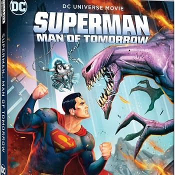 Superman: Man of Tomorrow Blu-ray Cover &#038 Details Revealed