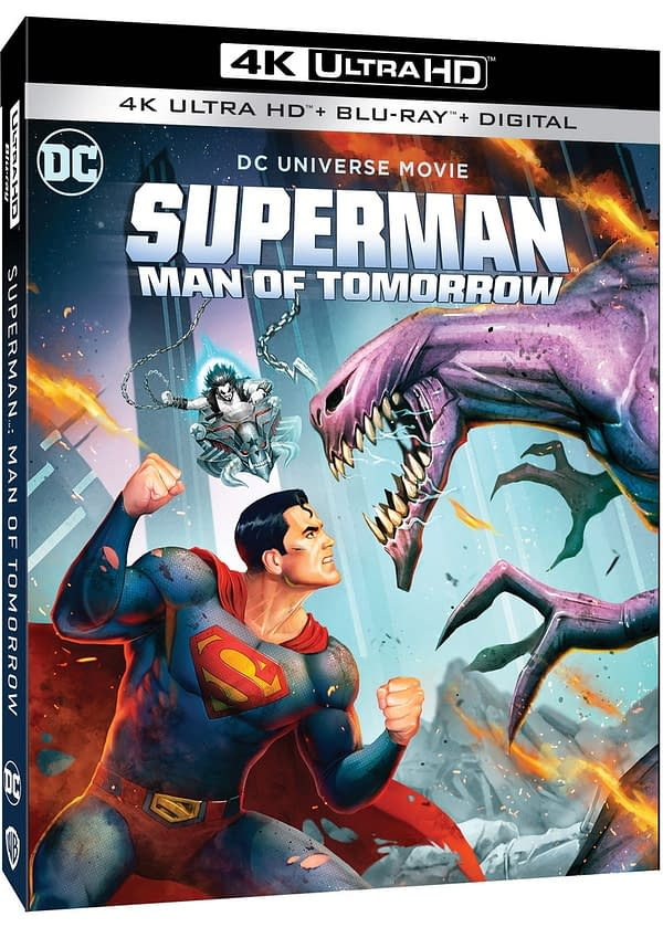 Superman: Man of Tomorrow Blu-ray Cover & Details Revealed