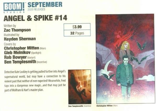 Zac Thompson and Hayden Sherman on Angel & Spike?