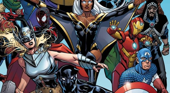 Marvel Comic Colicits