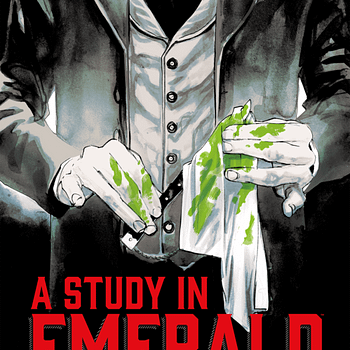 Rafael Albuquerque Illustrate Neil Gaiman 'A Study In Emerald' Dark Horse