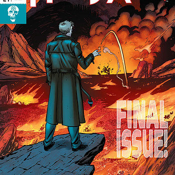 Hellblazer #24 cover by Tim Seeley and Chris Sotomayor