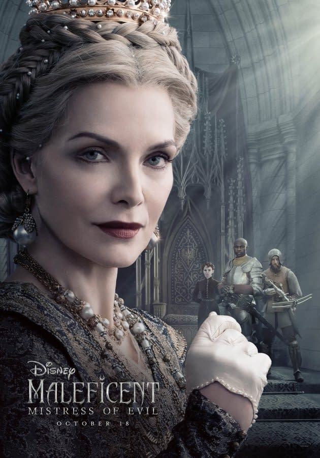 """4 New Character Posters and a BTS Featurette for """"Maleficent: Mistress of Evil"""""""