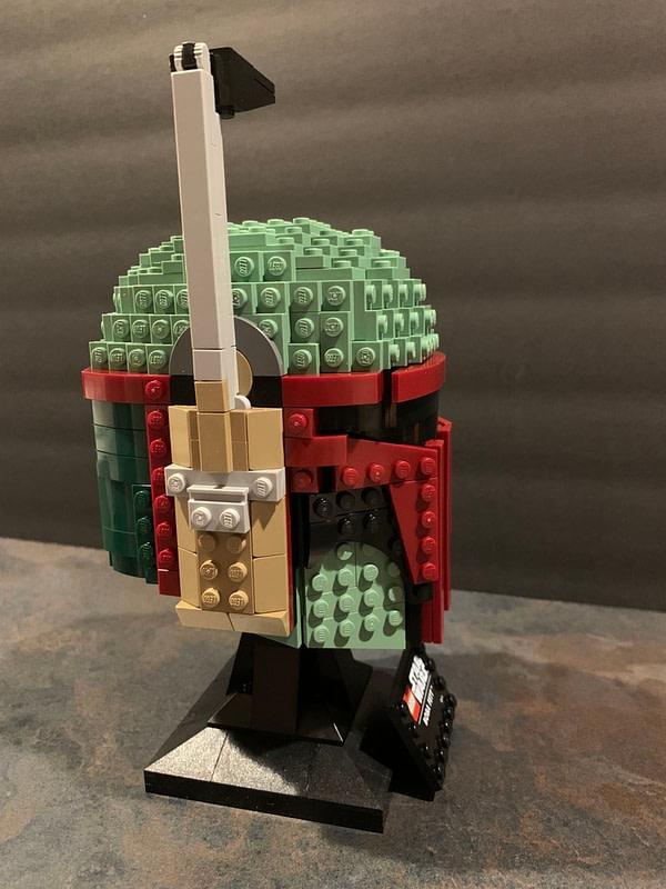 Collection de casques LEGO Star Wars 10