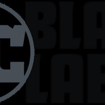 The logo for DC Comics' Black Label line of mature readers comic books.