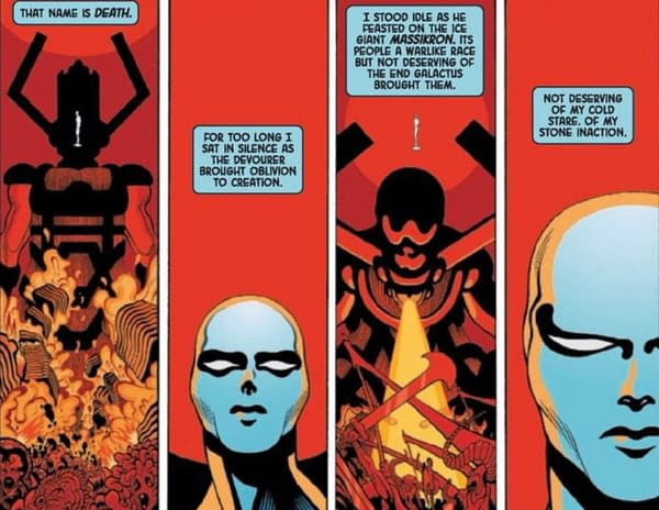 Take a Guilt Trip Through Space in This Silver Surfer Black #1 Preview