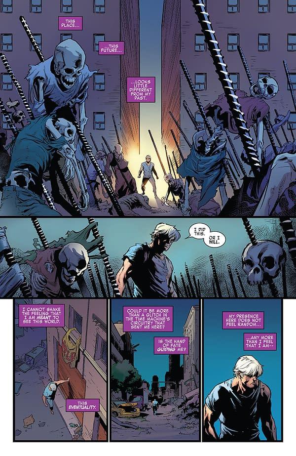 X-Men: Blue #33 art by Marcus To and Matt Milla