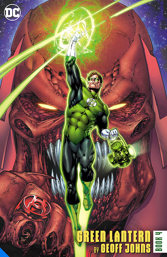 Geoff Johns Green Lantern Vol 4, one of many DC Big Books in 2020 and 2021