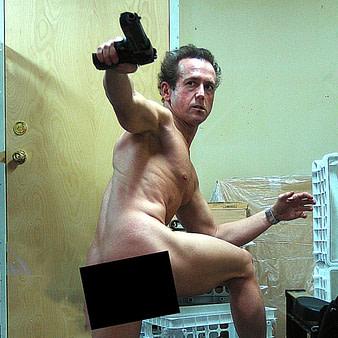Bill Sienkiewicz Joins the Brokeback Pose Challenge.