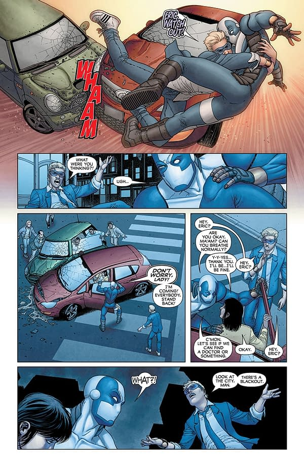 Quantum + Woody #6 art by Francis Portela and Andrew Dalhouse