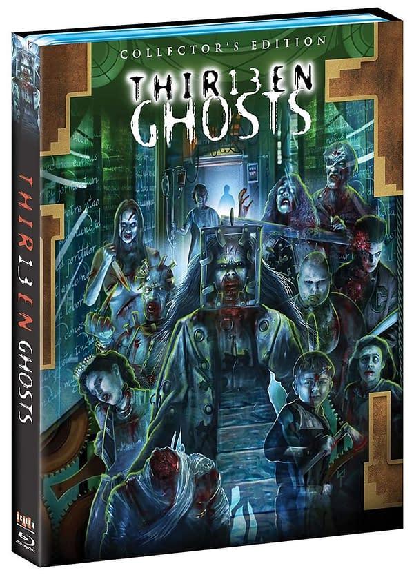 Treize fantômes Blu-ray détaillés par Scream Factory