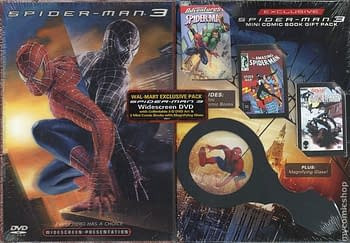 Walmart 2 Pack DVD + 3 Reprint Comics