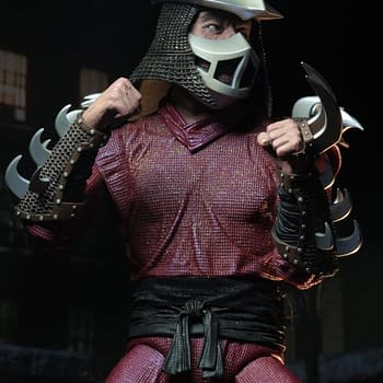 NECA TMNT Movie Shredder 8