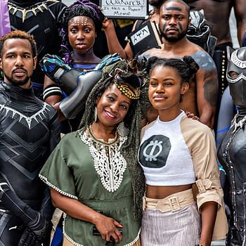 Dragon Con: A Regal of Wakanda Forever Cosplay