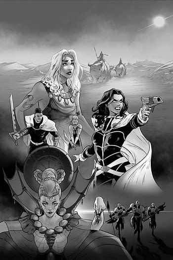 Dejah Thoris #6 1-In-15 Copy Variant Cover