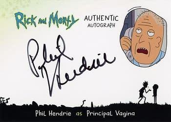 Rick and Morty Season 1 Trading Cards Auto 4