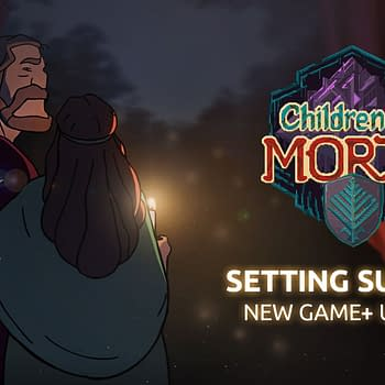 Children of Morta - Setting Sun Inn Main Art