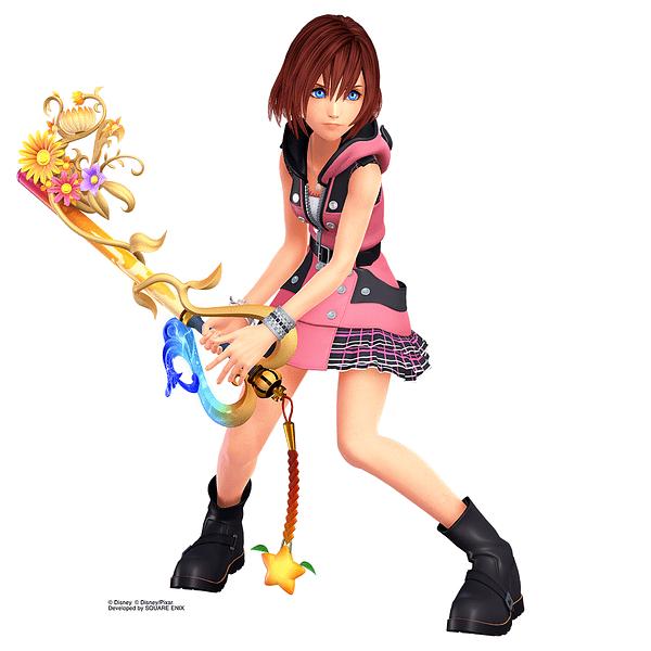 Kairi Gets Two New Battle Renders in Kingdom Hearts III
