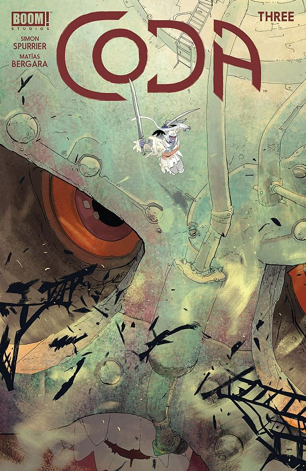 Coda #3 cover by Matias Bergara
