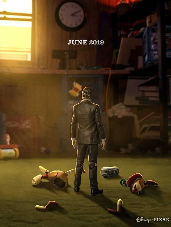 Keanu Reeves' 'Toy Story 4' Character Sounds…Interesting