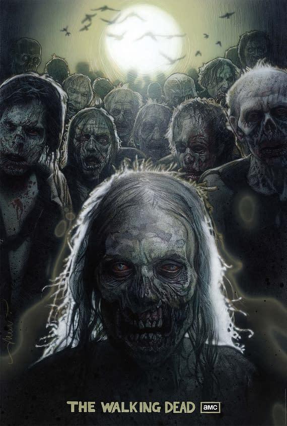 Drew Struzan's Walking Dead Poster Is Beautfiul