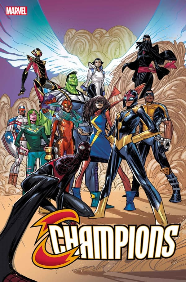 Marvel's Champions Canceled with October's Champions #10