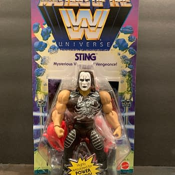 Masters of the WWE Universe: Lets Look at the Sting Figure