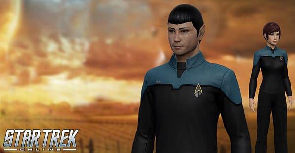 """Star Trek: Picard"" Uniforms Are Coming To ""Star Trek Online"""