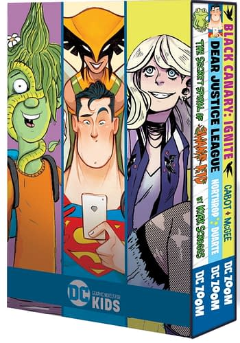 DC Collects YA and Kids Graphic Novels In Three-Pack Boxsets