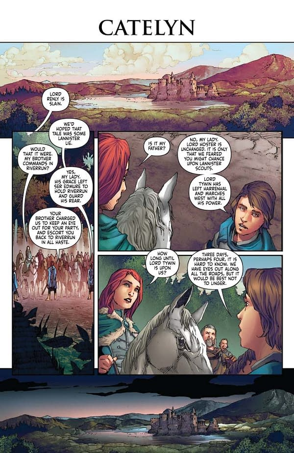Landry Walker  Writer's Commentary on A Clash Of Kings #3.