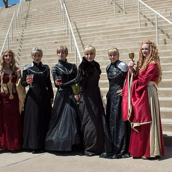 Game of Thrones Gathering Prepares for Winter Outside SDCC 2018