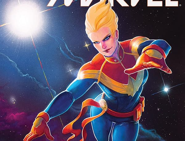 Cover to Mighty Captain Marvel #9 by Meghan Hetrick